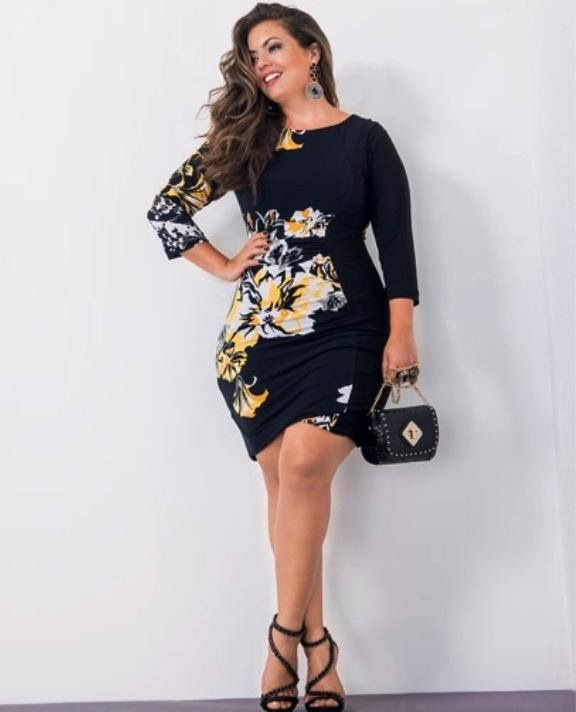 1000  ideas about Curvy Girl Fashion on Pinterest  Curvy fashion ...