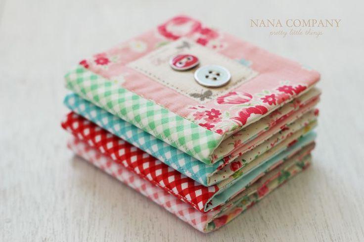 gorgeous needle books! nanaCompany