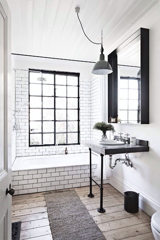 Love the tiles and grout combination