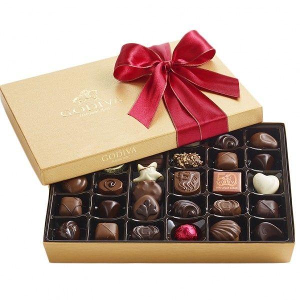 Godiva® Valentine's day Ballotin - 36pc
