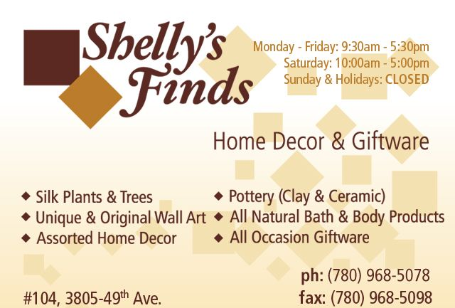 Shelly's Finds Home Decor & Giftware