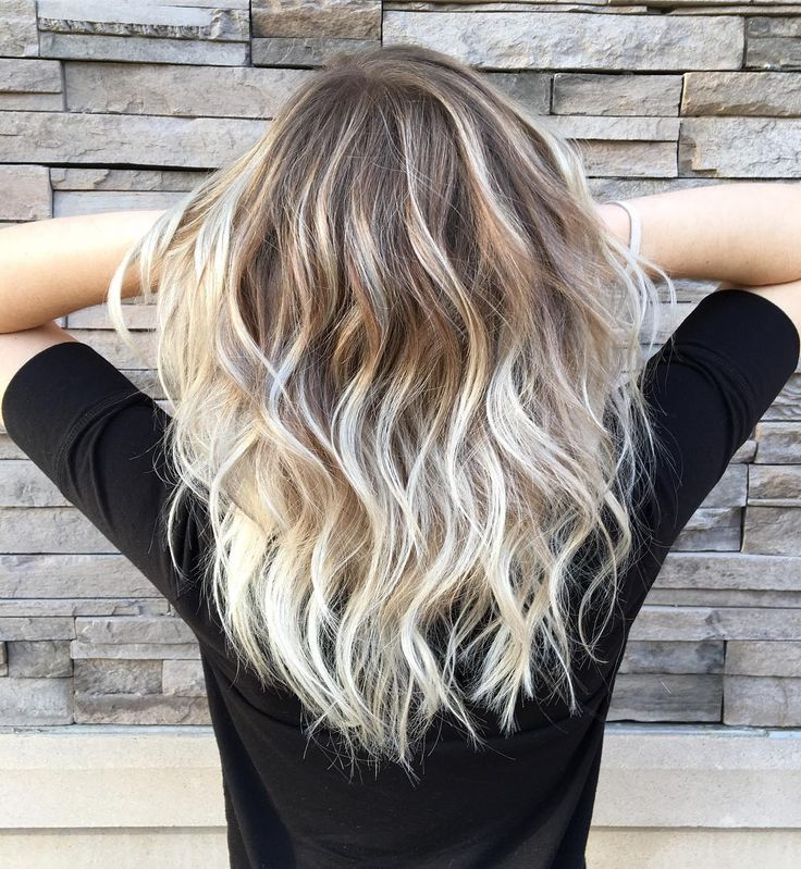 Best 25 white blonde highlights ideas on pinterest white blonde vanilla blonde balayage color melt for wavy dark blonde hair pmusecretfo Images