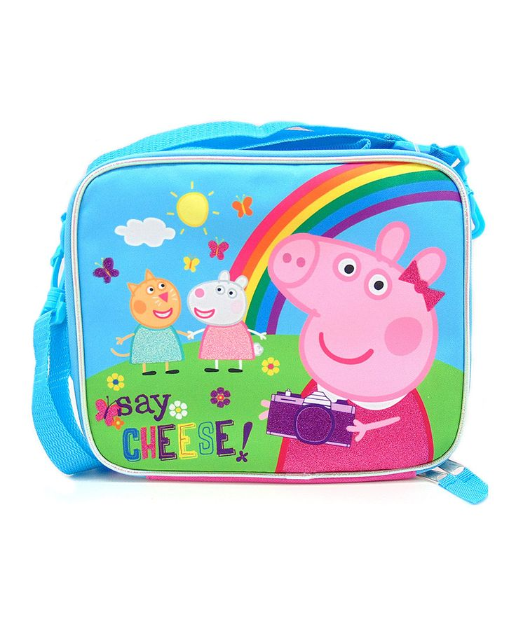 Look at this Peppa Pig 'Say Cheese' Lunch Box on #zulily today!