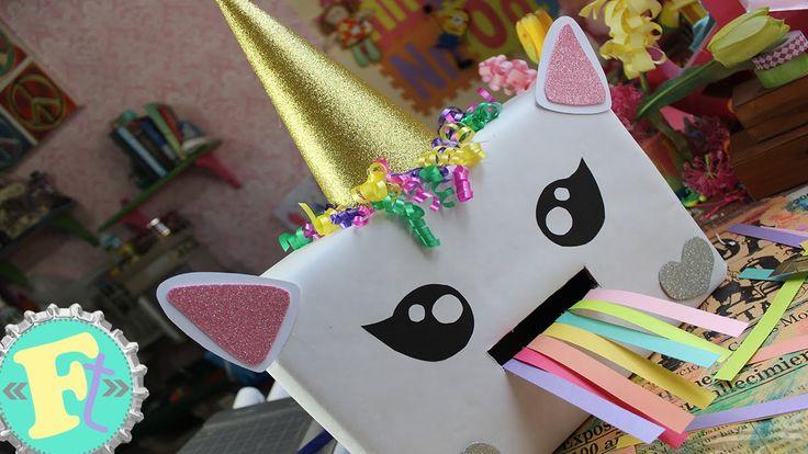 Buzón de Unicornio Vomita Arcoiris!! // Floritere // San Valentín //
