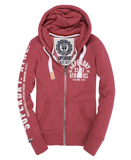I Love Track And Field Zip Hoodie ctTTfWU29