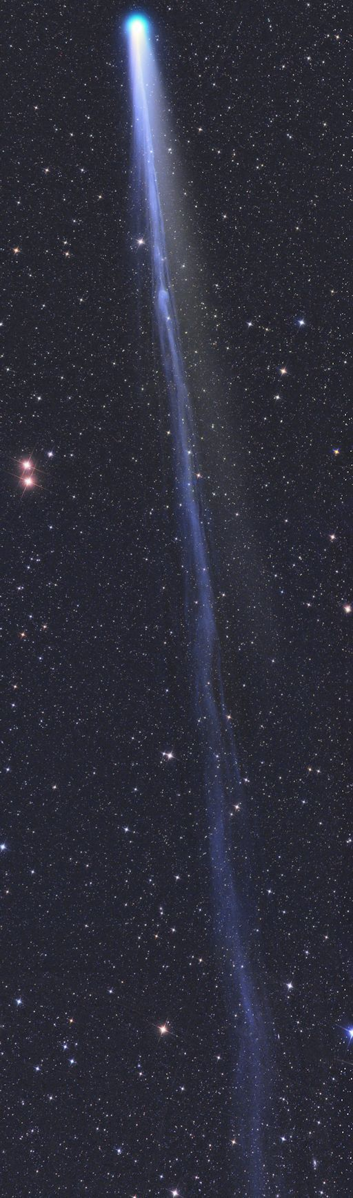 THE LONG TAIL OF COMET.