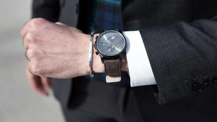 Tayroc Watch for Men, Grey,  Reloj, Hombre, Gris, Cronograph, cronografo