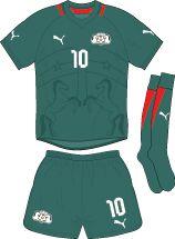 Burkina Faso | home jersey | 2012-2013