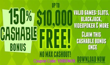 Sun palace casino 150% cashable bonus: https://www.24hr-onlinecasinos.com/bonus/rtg/sun-palace/cashable-bonus-up-to-10000-free/