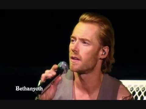 Ronan Keating - When You Say Nothing At All - live on stage