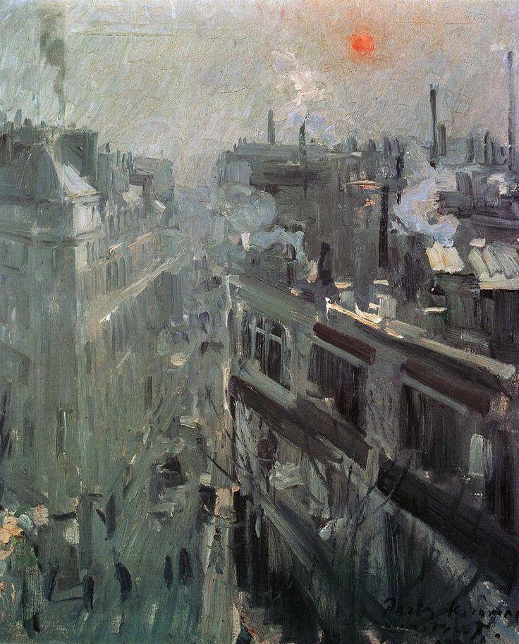 Paris.Morning (1906) - Konstantin Korovin