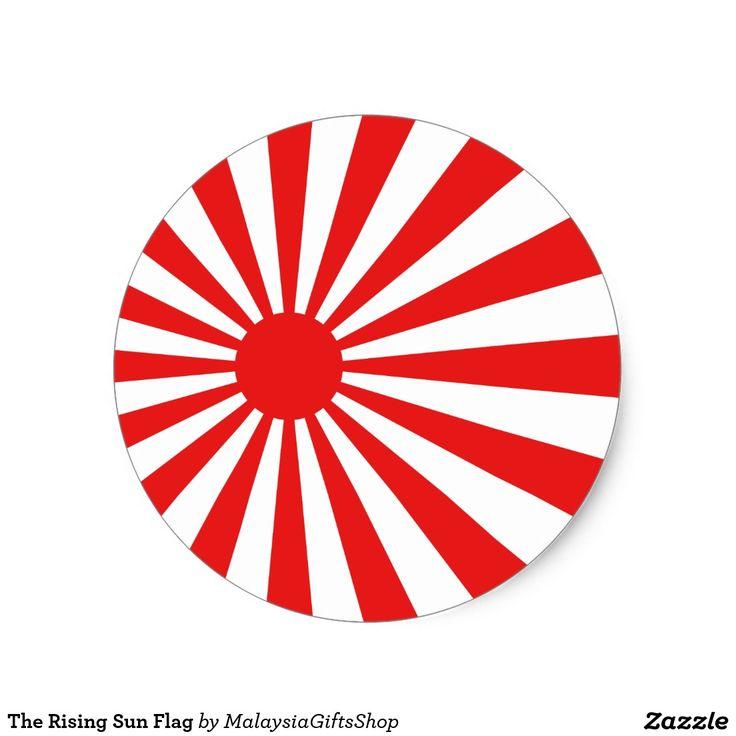 25 MM PIN BUTTON BADGE JAPAN RISING SUN FLAG