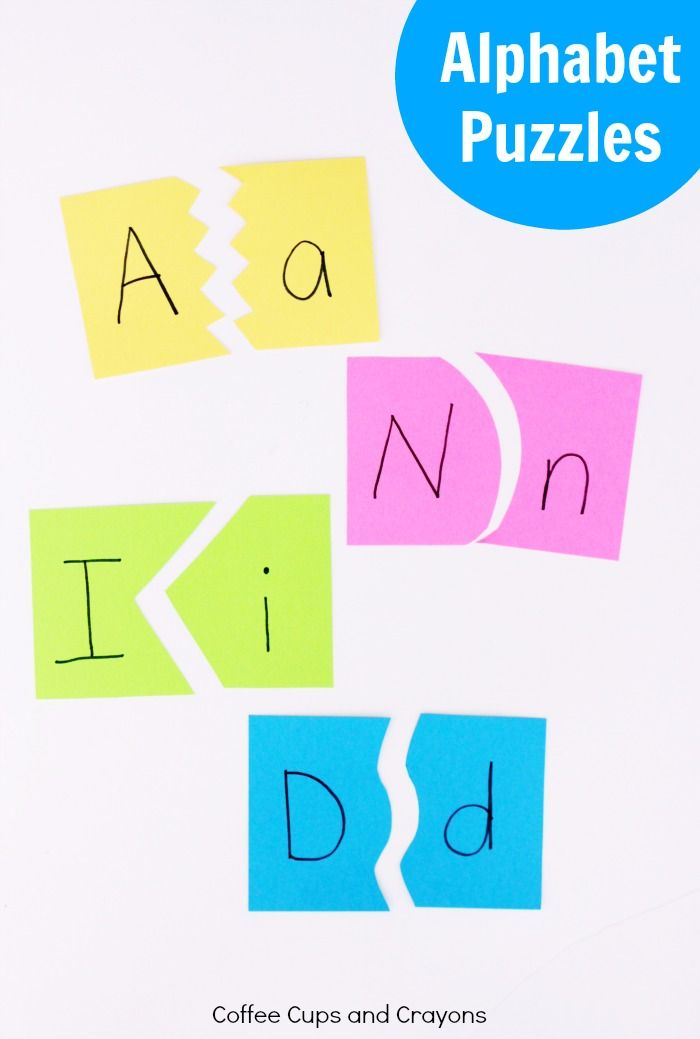 Alphabet puzzles that help kids learn to read and a book parents need to read about literacy!