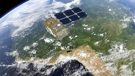 Sentinel-2B in orbit