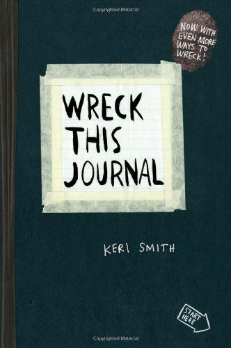 Wreck This Journal (Black) Expanded Ed.: Keri Smith: 9780399161940: Amazon.com: Books