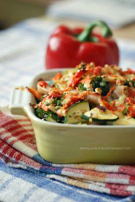 zapiekanka brokułowa z camembertem http://www.dietetycznie-w-kuchni.blogspot.be/2013/03/lekka-zapiekanka-brokuowa-z-camembertem.html