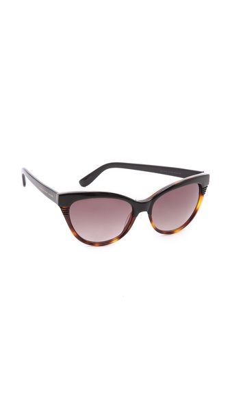 Marc by Marc Jacobs Солнцезащитные очки «кошачий глаз»