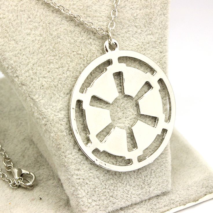 Star Wars Galactic Round Necklace