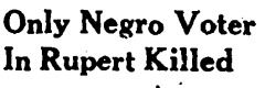 Your Peachy Past: Only Negro Voter Killed: a Georgia Civil Rights Cold Case Project