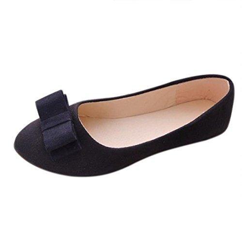 Oferta: 5.28€. Comprar Ofertas de Sandalias para Mujer, RETUROM Zapatos cómodos del trabajo de las mujeres de los planos (38, Negro) barato. ¡Mira las ofertas!