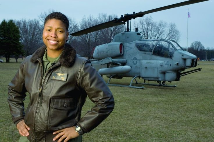 Ebony Can! First Black Female Fighter Pilot Helps Others