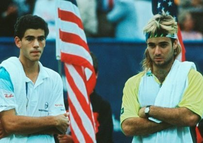 Also could enjoy the Agassi- Sampras rivalry!