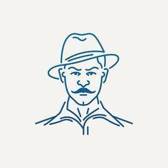 Shaheed Bhagat Singh | Popular Indian Freedom Fighters 3 of 9  #inquilab #desiconography #iconaday #icon #icondesign #art #design #ui #flatdesign #lineart #minimal #india #indian #desi #graphic #sardar #shaheed #singh #bhagatsingh #freedom #struggle #britishraj #iconography #creative #neverstopcreating #dailyproject #dailyproject #2016 #inspiration @iconaday @designspiration #dribbble #abduzeedo by http://ift.tt/1Tw1JHv