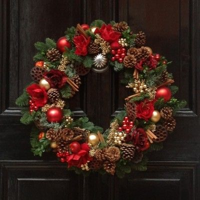Door Wreaths For Christmas