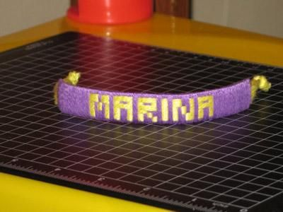 DIY Tutorial: DIY Friendship Bracelet / DIY Name Bracelet, Friendship Bracelets - Bead&Cord