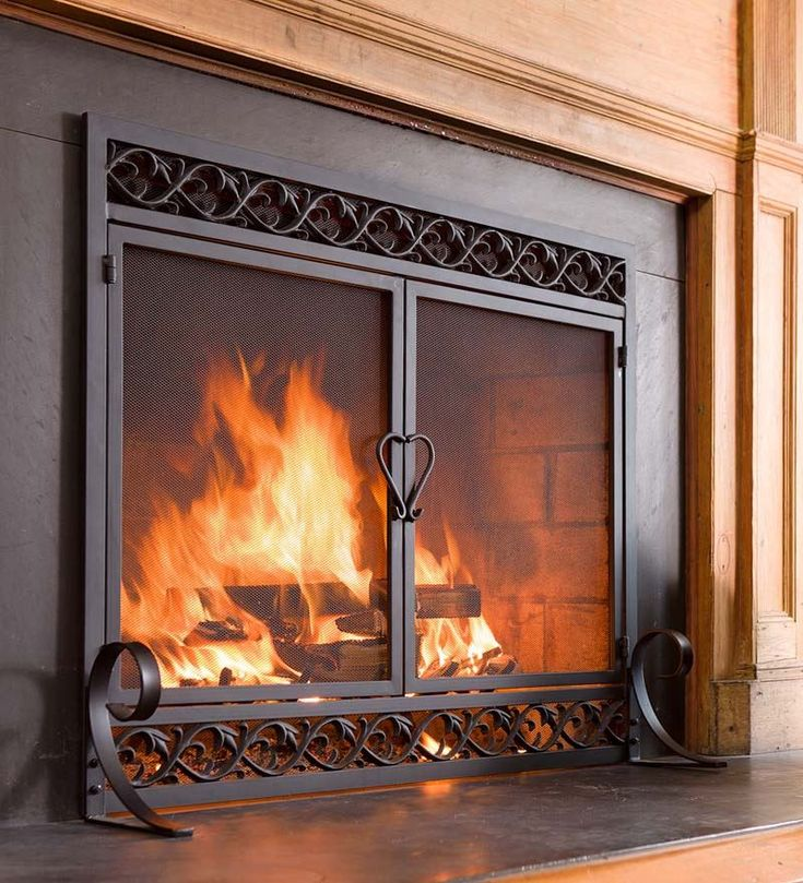 Fireplace Door fireplace door guy : Best 20+ Fireplace screens ideas on Pinterest   Farmhouse ...