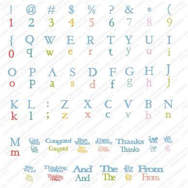 Cricut classic font cartridge cricut downloads for Cricut craft room fonts