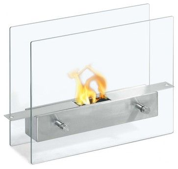 Tab Tabletop Ethanol Fireplace   Modern   Fireplaces   Soothing Company