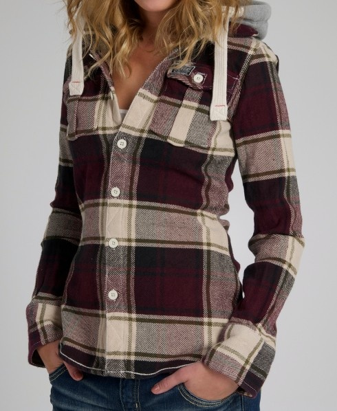 Superdry Lumberjack Hood. Have this one in pink! Will be handy for Canada!