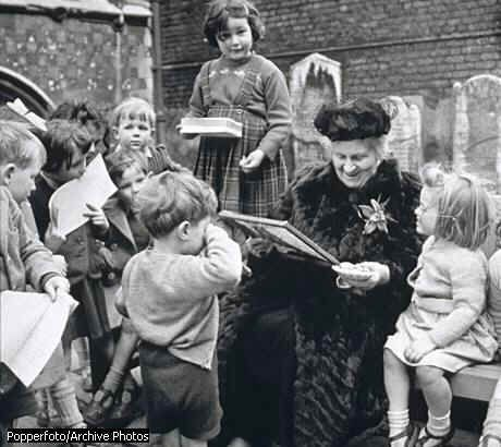 "Maria Montessori, ""The greatest sign of a success for a teacher…is to be able to say, 'The children are now working as if I did not exist'"""