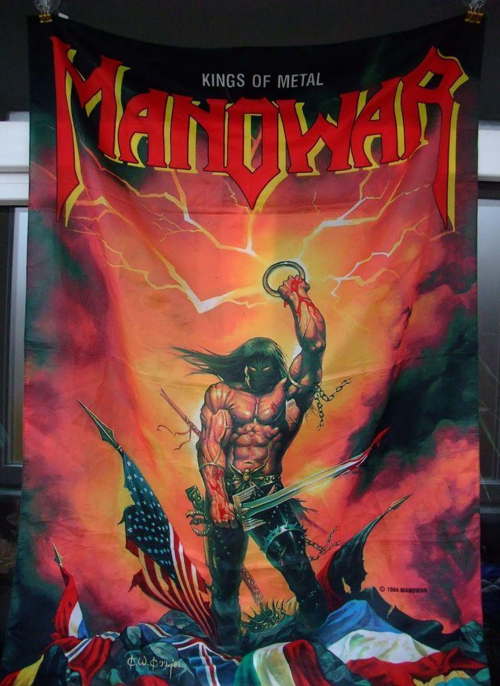 vintage Manowar Kings of Metal official merchandise 1994