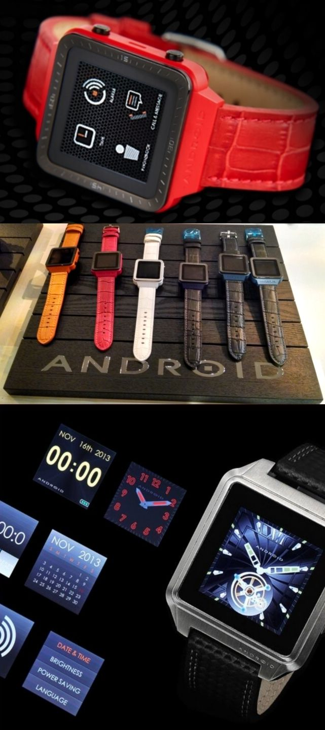 When is an Android smartwatch not an Android smartwatch? When it's from @Android Watches, a Florida luxury watch company founded in 1991—long before Google rolled out its Android mobile software in 2007. The Android Smartwatch GTS, shown at the Luxury Technology Show in New York, doesn't run Android (it uses proprietary software) but can connect wirelessly to Android and iOS smartphones. It has a handful of built-in apps and can be used Dick Tracy-style as a Bluetooth speakerphone. $199