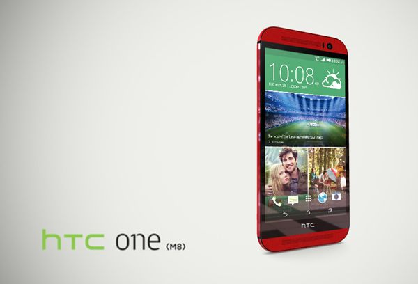 #HTC One M8 Red Love it!