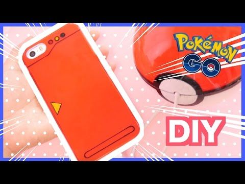DIY Pokemon Pokedex Phone case - Pokemon GO - YouTube