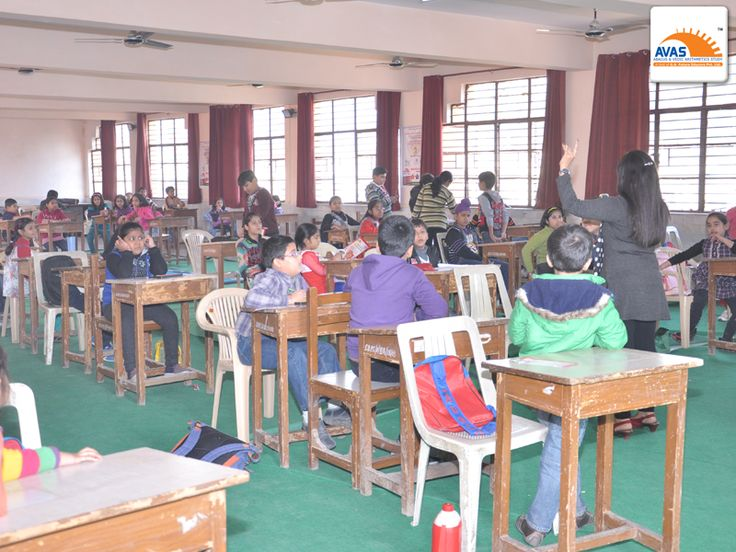 Students understanding instructions for giving ABACUS exam - National LEVEL