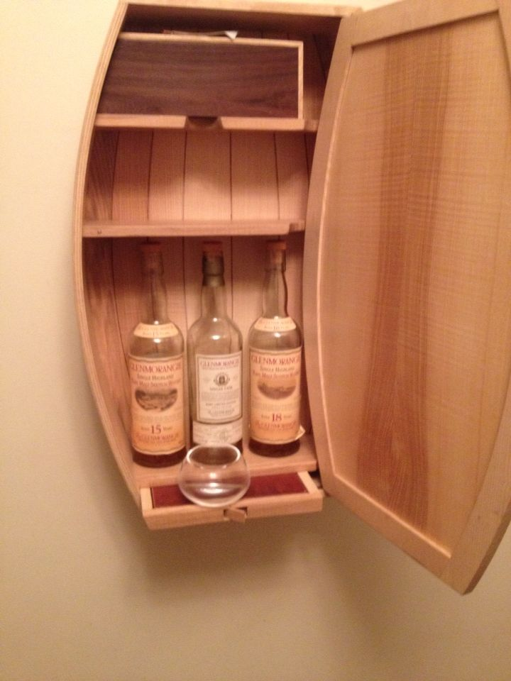 Nice Whiskey Cabinet