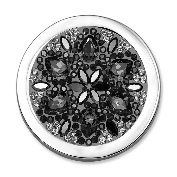 Mi Moneda Daisy - Black - Medium