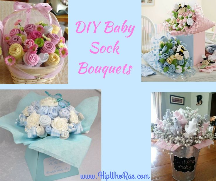 Diy baby socks 25 pinterest diy baby sock bouquets march 2018 really easy so have a go negle Image collections