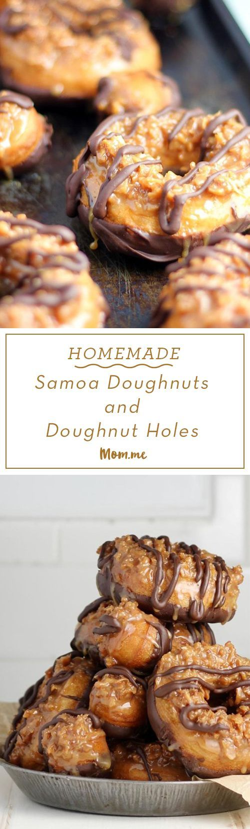 These scrumptious treats are the best of both worlds! A delicious doughnut combined with the all of the flavors of a Samoa cookie makes the ultimate breakfast, snack, or dessert!