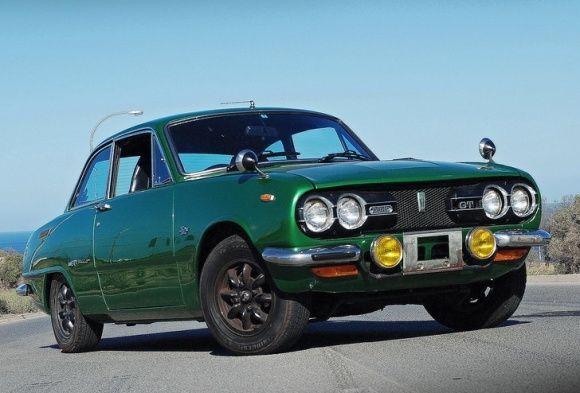 1973 Izuzu Bellett GT-R. I like the color.