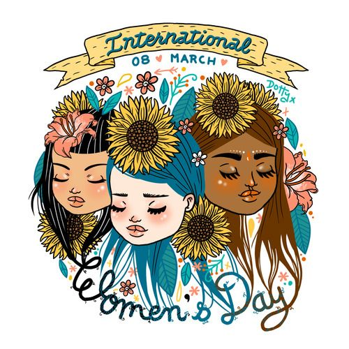 drawing art hair japan japanese kawaii design women picture flower colour color indian leaf artists on tumblr internationalwomensday