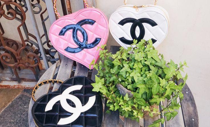 Catherine b sac Chanel coeur 1