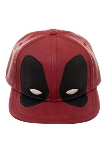 801b84ee559ff4 Deadpool Big Face Distressed PU Snapback Hat#Face, #Big, #Deadpool ...