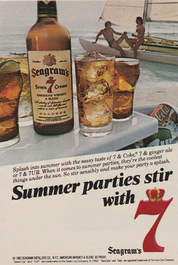 Seagram's 7 Ad from 1982 - Retro Ramblings