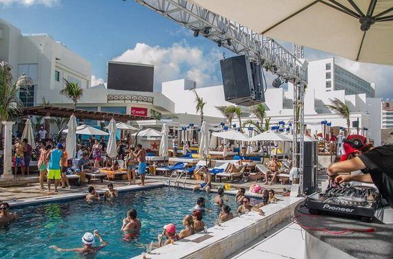 Mandala Beach is Cancun's hottest beach club!