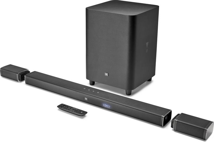 The JBL Bar 5.1 system features the first completely wireless surround speakers we've ever seen. A wireless home theater like no other Until JBL showcased theirBar 5.1 sound bar